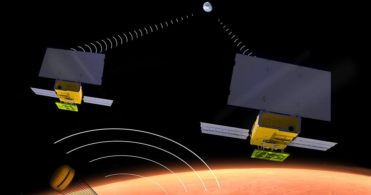 InSight Mission Shows That CubeSats Can Relay Messages From Deep Space