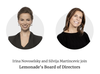 Lemonade Names Irina Novoselsky and Silvija Martincevic to Its Board of Directors