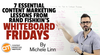 7 Essential Content Marketing Lessons from Rand Fishkin's Whiteboard Fridays