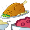 Content Marketing Pyramid and Thanksgiving Dinner