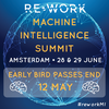 Artificial Intelligence is Already Transforming Your Life & Workplace: Find out more at the Machine Intelligence Summit in Amsterdam this June