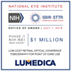 Lumedica Receives $1M Phase II NIH-SBIR Grant, in Support of Detecting Eye Disease Around the World