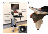 Handheld swept-source optical coherence tomography with angiography in awake premature neonates