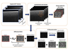 3-D compressed sensing optical coherence tomography using predictive coding
