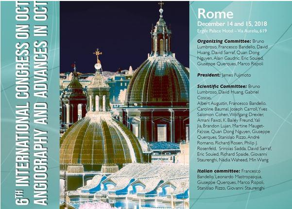6th International OCT Angiography And Advances In Congress