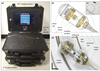 Dual-modality optical coherence tomography and fluorescence tethered capsule endomicroscopy