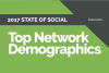 Top Social Network Demographics 2017 [Infographic]